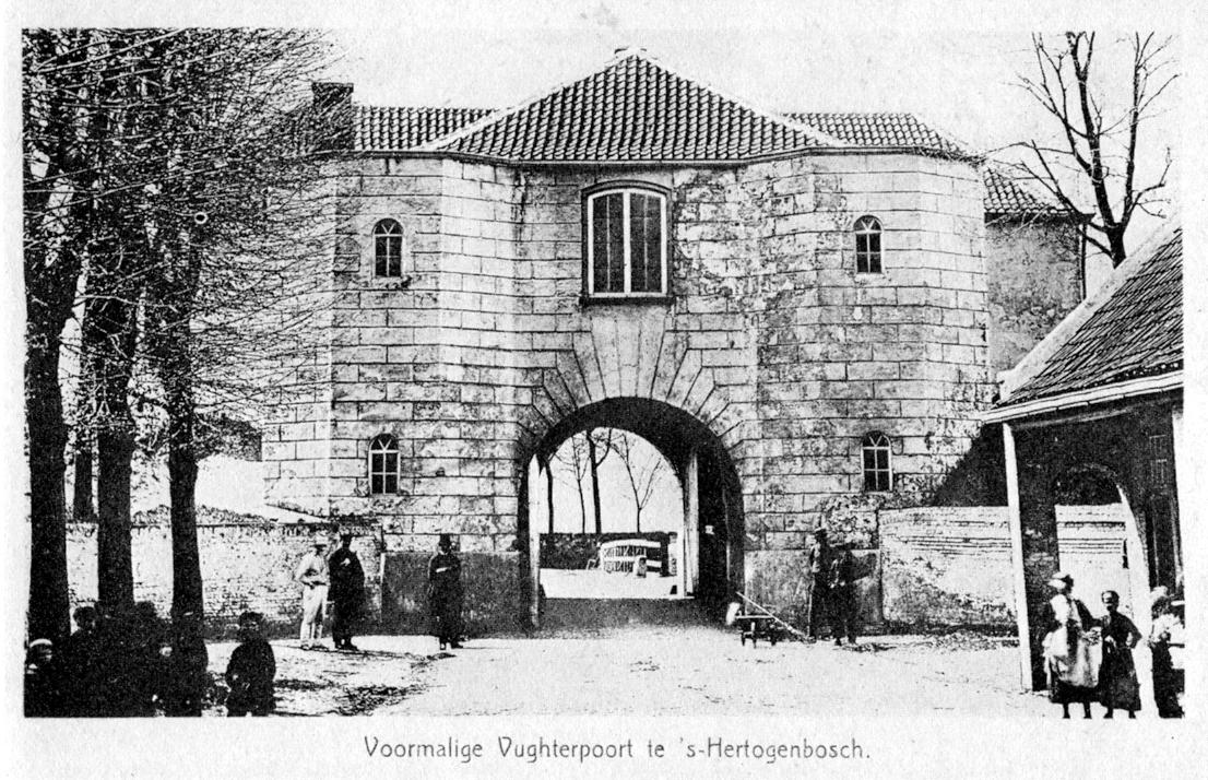 poort voor jaren 30 huis